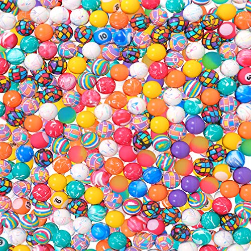 Narwhal Novelties Bouncing Balls; (250-Pack) Hi Bouncy Balls; 27mm, 1' Rubber Bouncy Ball Collection- Perfect for Gumball Machine or Bulk Treasure Box