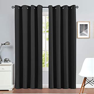 Blackout Curtain 95 inches Long for Living Room Room Darkrning Window Curtain Panel for Bedroom Triple Weave Drape Grommet...
