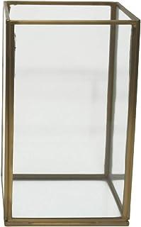 madera, funciona con pilas, 20 x 14 cm color beige Farol led Best Season 270-37 Deutsche Weichnacht