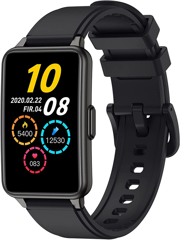 QFSLR Smartwatch Reloj Deportivo con Ciclo Menstrual Femenino Monitor De Frecuencia Cardíaca Monitor De Presión Arterial Monitoreo De Oxígeno En Sangre Podómetro