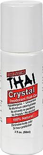 2 Packs of Thai Deodorant Stone Thai Crystal Deodorant Mist Roll-on - 3 Oz