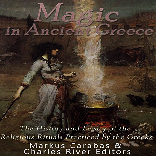 Magic in Ancient Greece audiobook cover art