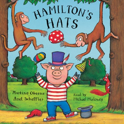 Hamilton's Hats audiobook cover art