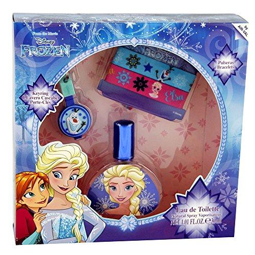 Frozen La Reine des Neiges Coffret EDT 30 ml/Bracelets/Porte-Clés