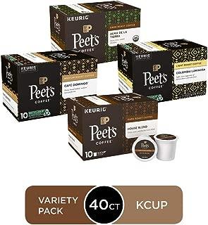 Peet's Coffee Peet's Coffee K Cup Pack 40ct variety Pack, Variety, 40Count