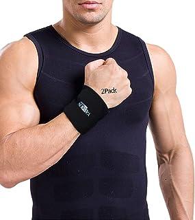 مچ بند و مچ بند 2 مجهز به پشتیبانی مچ ورزشی برای تناسب اندام ، وزنه برداری ، تاندونیت ، آرتروز
