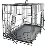 Dog Crates for Extra Large Dogs - XXL Dog Crate 48' Pet Cage...