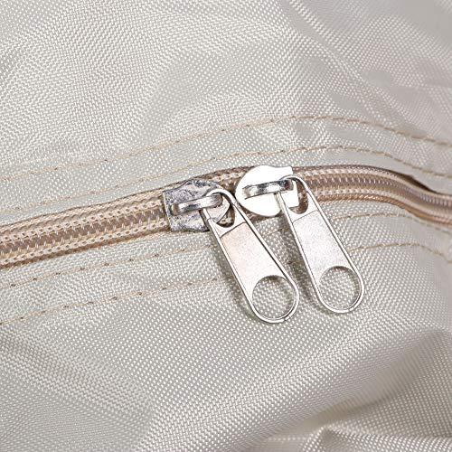 Astibym Große Aufbewahrungskapazität verschleißfeste, langlebige Patio-Kissen-Aufbewahrungstasche Aufbewahrungstasche Gartenmöbel-Tasche für die Wohnküche