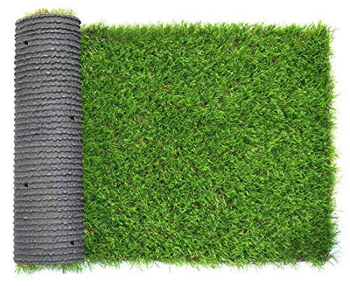 35 mm Kunstrasen, künstlicher Rasen, Garten, Dekoration für Innen und Außen (0,4 x 0,8 m)