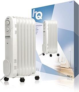 HQ -OR07 Interior Color blanco 1500W Radiador - Calefactor (Radiador, Interior, Color blanco, 1500 W, 135 mm, 465 mm)