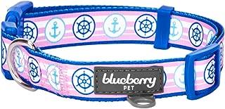 pink dodger dog collar