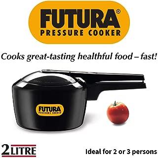 Hawkins F05 Pressure Cooker, 2 L, Black