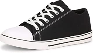 Kraasa Touch Canvas Sneakers for Men