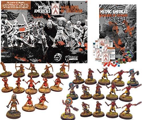 Warlord Games Mythic America: Aztecas y Naciones Starter Set