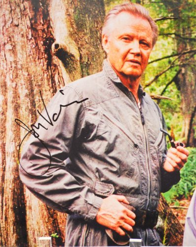 Jon Voight Autographed 8x10 Color Photograph - Signed in Black - In Person - Rare - Collectible