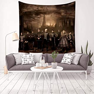 GOEMIX My-Chemical-Romance: The Black Parade Poster 3D Print Home Decor Colorful Tapestry Wall Hanging for Bedroom Dorm Rooms