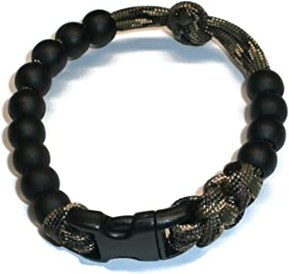 RedVex Ranger Pace Counter Bead Bracelet Woodland Camo- Choose Your Size - Customization Available