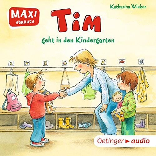 Tim geht in den Kindergarten audiobook cover art