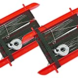 FLADEN Fishing - Set of 2 Crab / Fish Line 7in Frame with Weight - For Coastal Shore Rock Pool Crabbing [31-639-2]