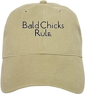 Bald Chicks Rule Baseball Cap