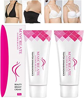 Petansy 2 Pack Breast Cream Firming Breast Enlargement Cream Must Up Breast Cream Massage Breast Firming Tightening Big Boobs Bigger Bust for Women
