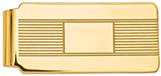 14K Yellow Gold Money Clip