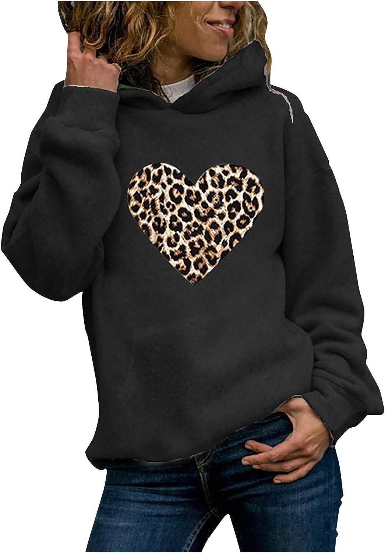 Hamleo Women's Deluxe Winter Sweatshirt Challenge the lowest price of Japan Hoodie Comfortable Tops Pullove