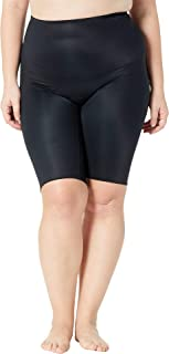 Women's Plus Size Power Conceal-Her Extended Length Shorts