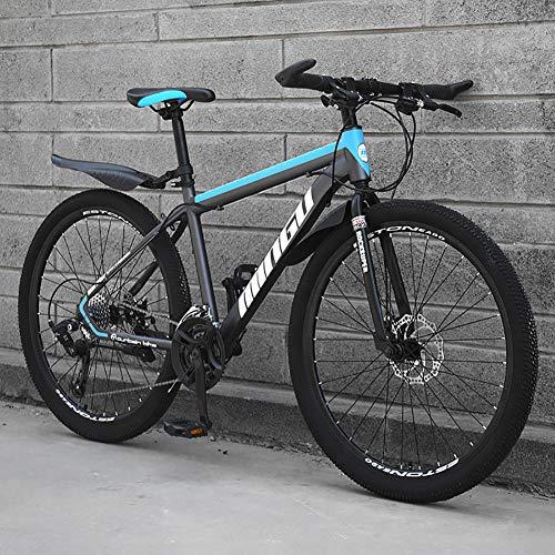Pliable Vélo VTT,Frein à Double Disque Hardtail Vélo De Montagne,Homme Femmes Adulte Tous Les...