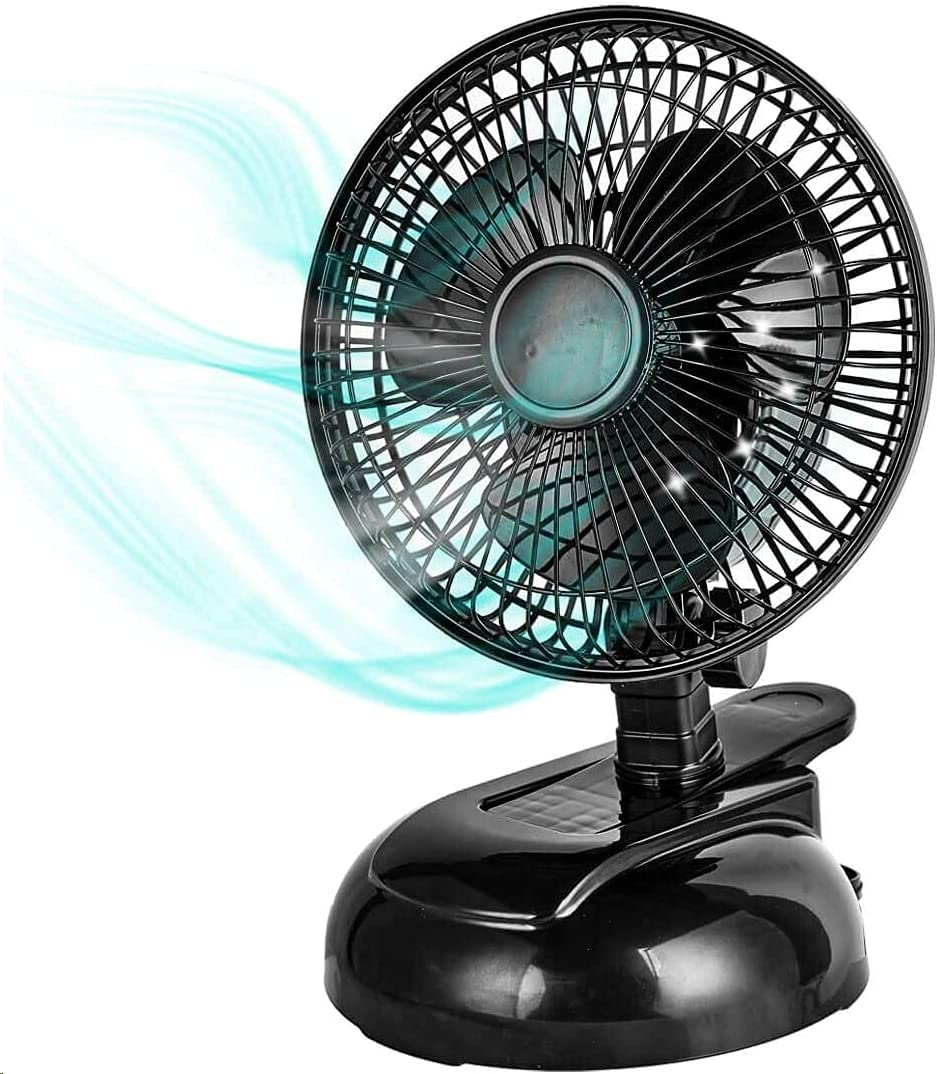 Free Shipping New BEYOND BREEZE 6-inch Clip on Fan Quiet Speeds Tilt excellence Adjustable 2