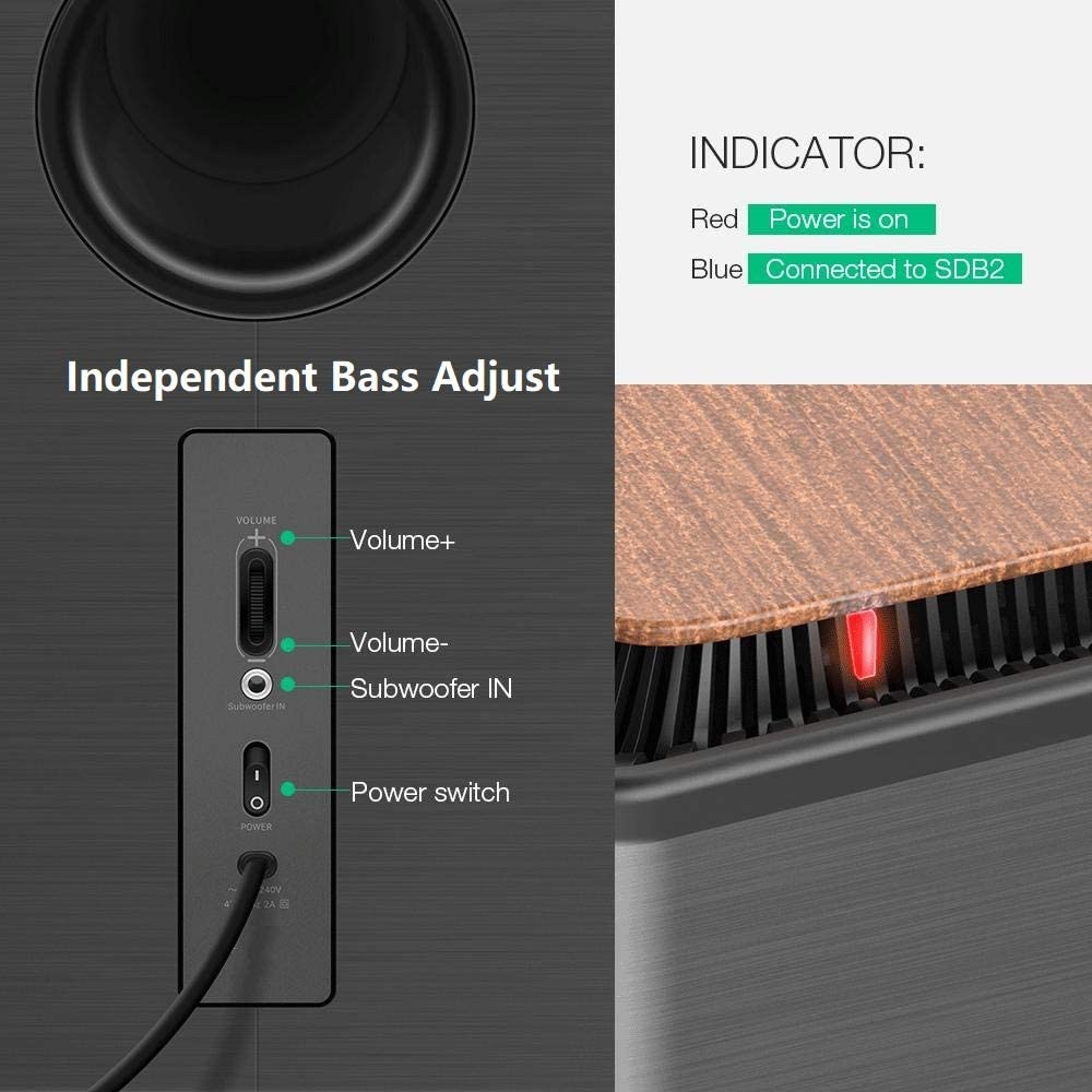 Listener Pro Wireless Soundbar and Subwoofer Soundbar