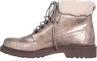 Esprit Womens Candis Leather Round Toe Ankle Fashion Boots, Grey, Size 7.5