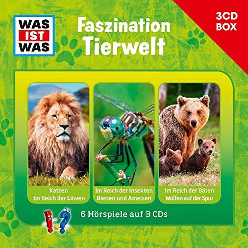 Was Ist Was 3-CD Hörspielbox Vol.7 – Faszination Tierwelt