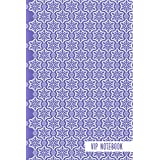VIP Notebook: VIP Notebook Blank line Journal gift / notebook_''6x9''_100 pages soft cover