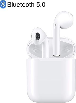 【Bluetooth 5.0】完全ワイヤレスイヤホン iPhone Airpods用 Bluetooth対応 マイク付き ヘッドセットタッチコントロール 対応Siriへアクセス 左右分離型 (AirPod)