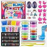 Luclay DIY Slime Kit - Crystal Slimepara Manualidades Niños, Kit de Slime para Hacer Juego Slime...