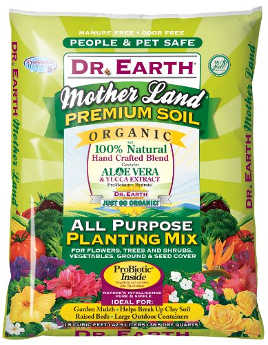 Dr. Earth Mother Land All Purpose Planting Mix, 1.5 cu. ft.