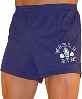 world gym shorts