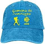 Gorra de béisbol de Marvel para hombre y mujer, Camino de Santiago compostela Jeanet Baseball tiene ajustable Trucker Marvel