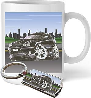 Koolart Cartoon Car Mercedes M-Class Leather and Chrome Keyring