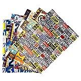 ARKRAFT Carta da Regalo con 5 Fogli Assortiti Misura 100x 70 cm per i Ragazzi (A18)