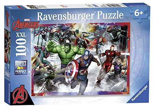 Ravensburger 10771Marvel Avengers Assemble Puzzle,XXL, 100Teile