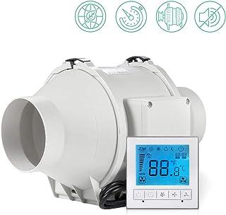 Ventilador extractor con controlador inteligente