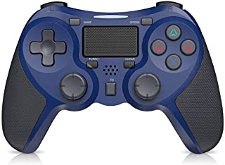 wireless controller for ps4, stoga remote gamepad for playstation 4 wireless pro gaming controller with dualshock (blue)