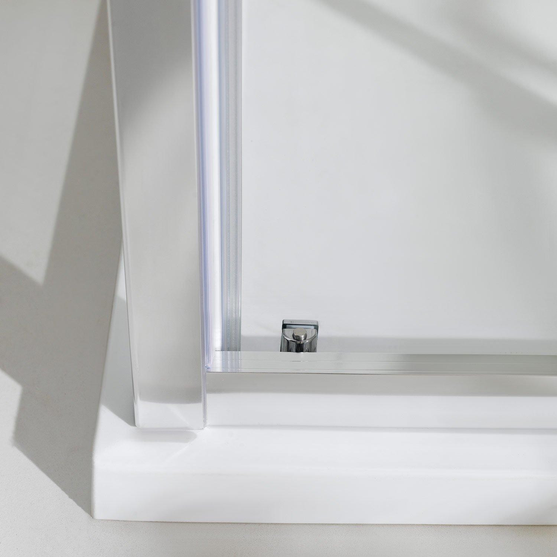 Cabina de ducha tripartitos 75 x 120 x 75 cm H198 Young Trio 1 puerta corredera de cristal: Amazon.es: Bricolaje y herramientas
