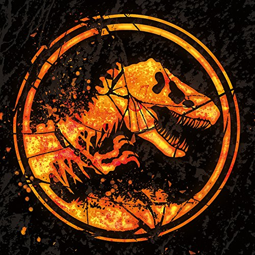 Jurassic Park Jurassic World Fallen KingdomC- Logo 40 x 40cm Canvas Print Leinwanddruck, Mehrfarbig, 40 x 40 cm