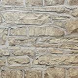 Arthouse - Papel pintado Church Stone, con diseño piedra natural, ref. 697100, imitación muro de piedra natural