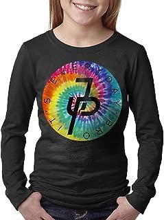 Jake Paul Rainbow Logo Young Long T Shirts Round Collar Shirt