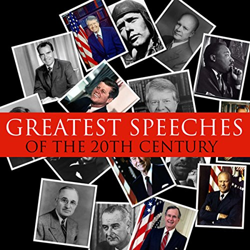 Great Speeches of the 20th Century audiobook cover art