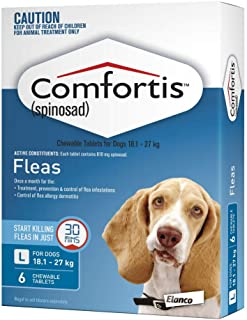 Comfortis 810mg Blue Chewable Tablets, 6 Count
